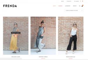 diseño web shop online online frenda